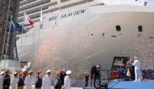 MSC Seaview wurde heute an MSC Cruises übergeben