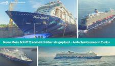 Neue Mein Schiff 2 kommt früher als geplant! Bereits in 2018?