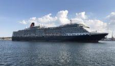 Queen Victoria: Erstanlauf in Kiel