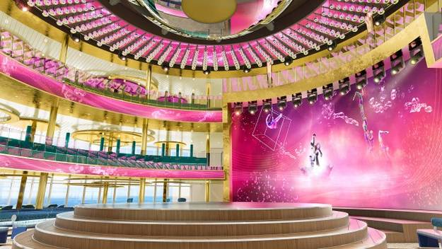 Das Theatrium der AIDAnova / ©AIDA Cruises
