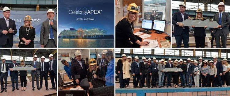 Der zweite Neubau der Celebrity Edge Class heisst Celebrity Apex