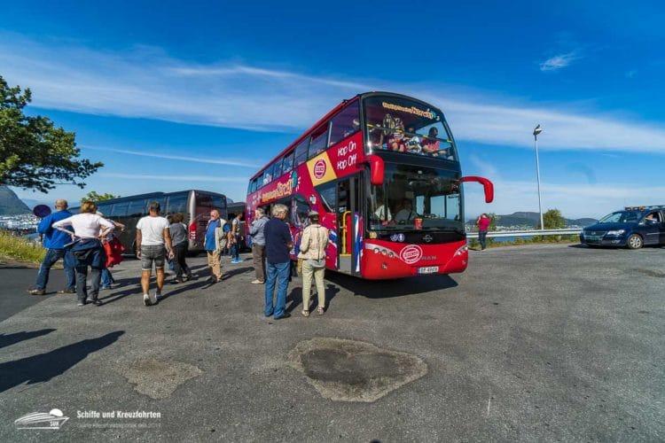 Hop On - Hop Off Bus Ålesund