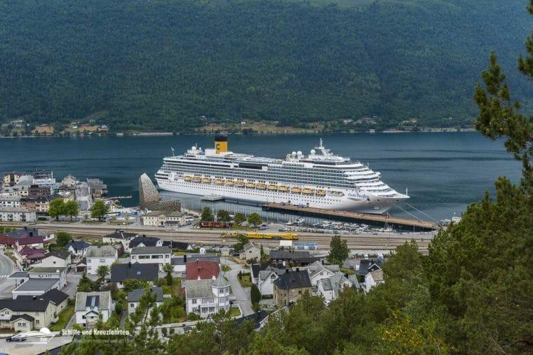 Costa Pacifica: 1454 Gäste konnten gestern in Genua ausgeschifft werden