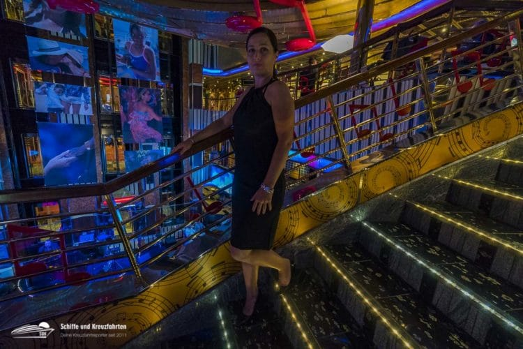 Gala-Abend an Bord von Costa Pacifica