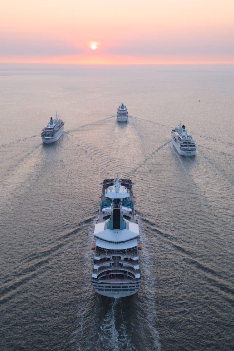 Phoenix Reisen: Flottentreffen am 26.07.2018 in Bremerhaven / ©Phoenix Reisen