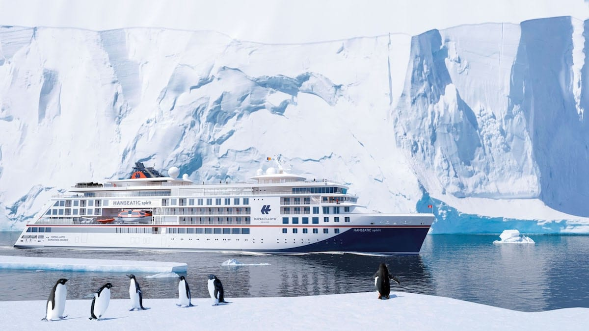 Hanseatic spirit heisst der dritte Neubau und wird ein reines Adults-Only-Schiff / © Hapag Lloyd Cruises