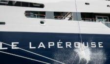 Ponant tauft feierlich die neue Le Laperouse