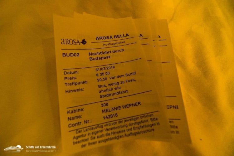 Ausflug: Nachtfahrt durch Budapest