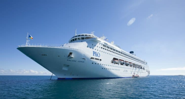 Pacific Jewel © P&O Cruises