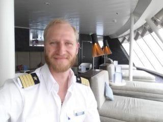 Kapitän Sebastian Naneder / © TUI Cruises