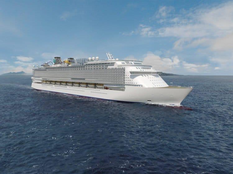 Das erste Schiff der Global Class / ©MV Werften