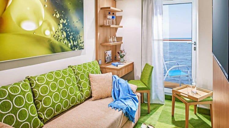 AIDAnova Einzelkabine © AIDA Cruises