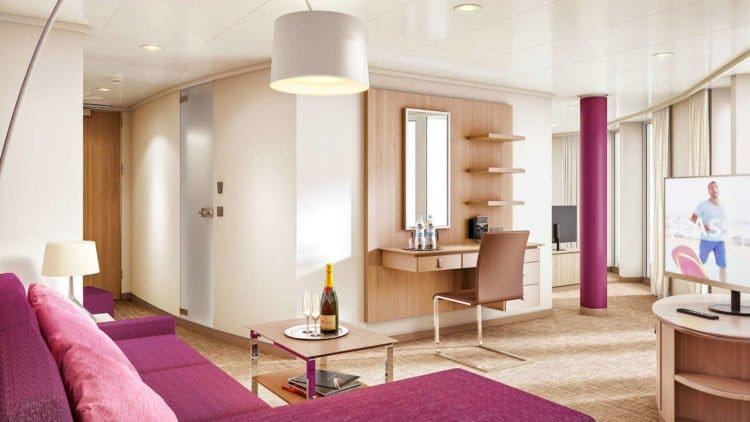 AIDAnova Suite © AIDA Cruises