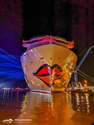 Happy Birthday AIDAnova! - Vor zwei Jahren wurde das erste LNG-Kreuzfahrtschiff getauft
