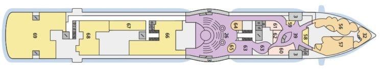 AIDAperla Deck 6 © AIDA Cruises