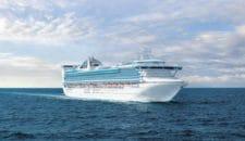 Golden Princess: 22-jähriger über Bord – Keine Suche!