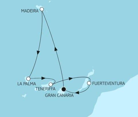 Mein Schiff 1: Kanaren mit Madeira / ©TUI Cruises