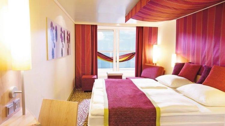 Panorama Balkonkabine der AIDAsol / ©AIDA Cruises