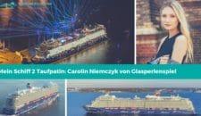 Mein Schiff 2 Taufpatin: Carolin Niemczyk von Glasperlenspiel