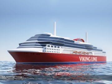 Viking Line Neubau - Ablieferung Ende 2020 / © Viking Ling