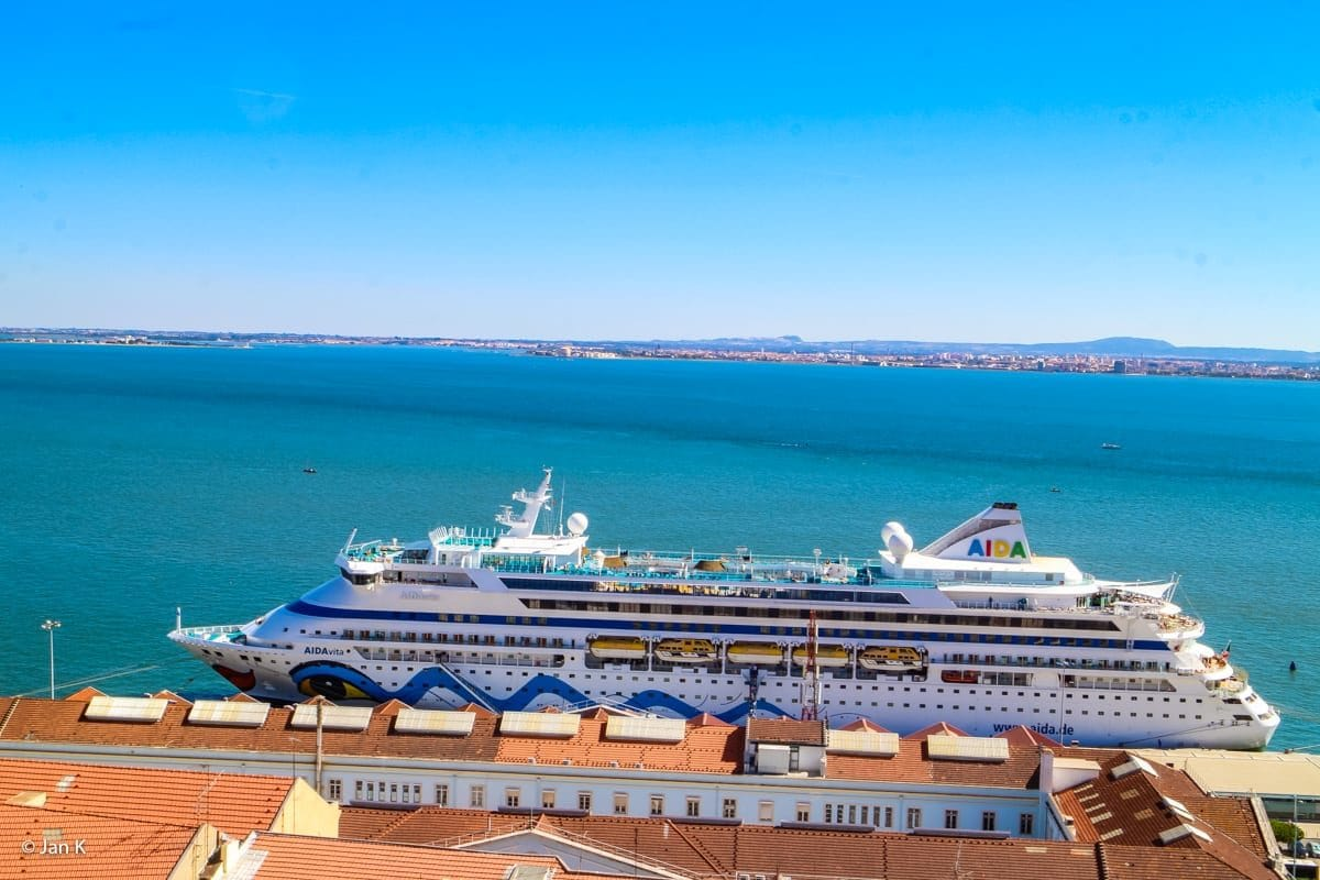AIDAvita in Lissabon