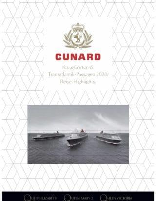 Der neue Cunard Katalog 2020