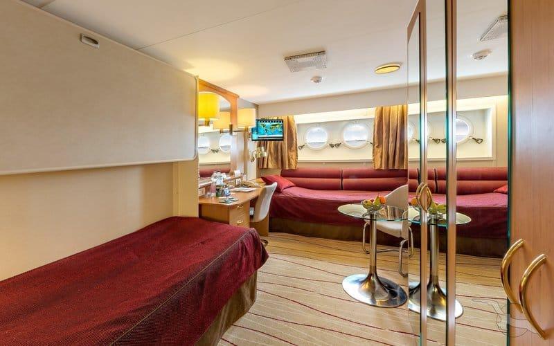 MS Albatros: 2-Bett Außenkabine / ©Phoenix Reisen