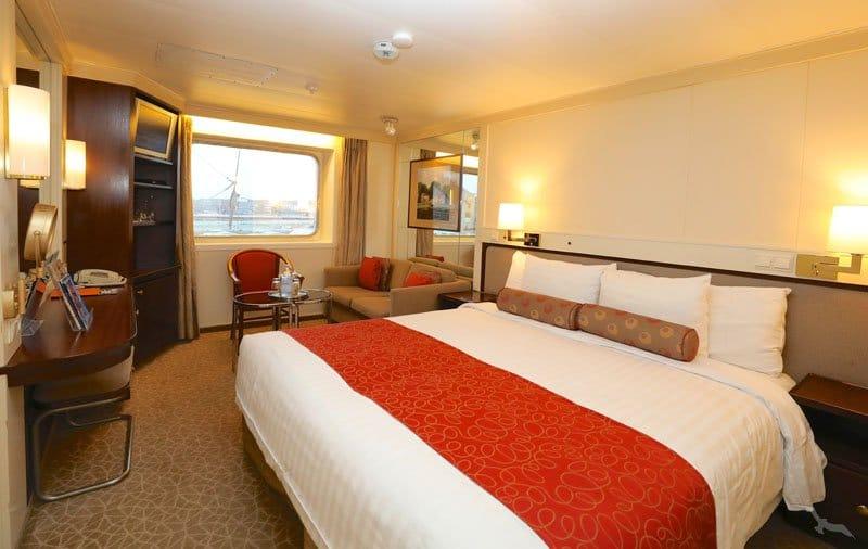 MS Amera: 2-Bett Außenkabine mit Sichtbehinderung / ©Phoenix Reisen