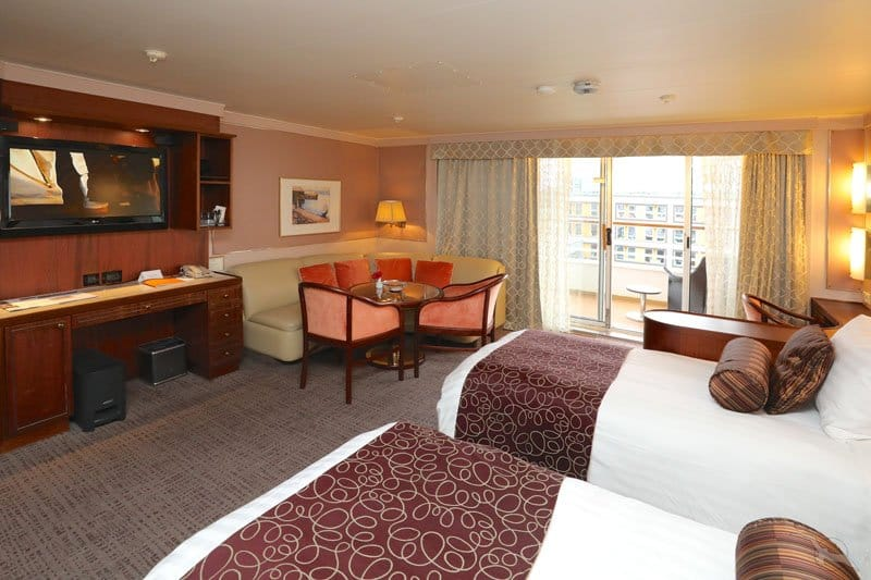 MS Amera: 2-Bett Junior Suite mit Balkon / ©Phoenix Reisen