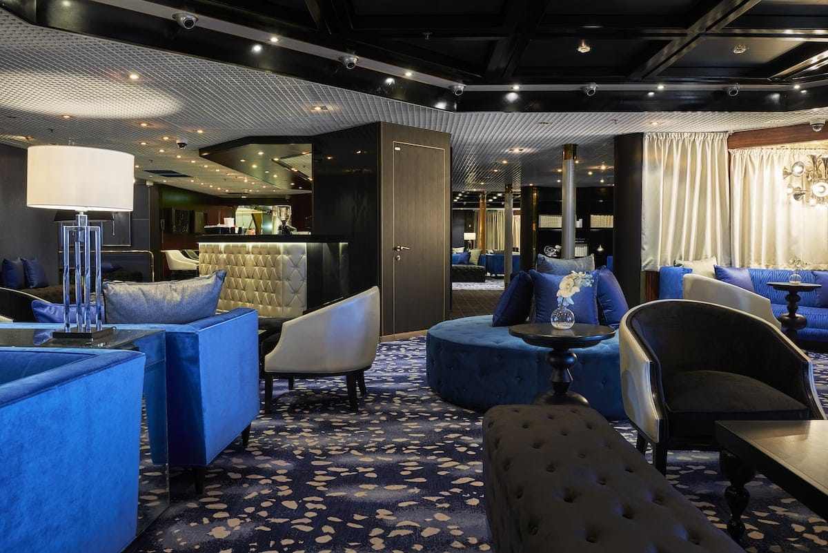 Eden Blue Room auf der Vasco da Gama / © Transocean