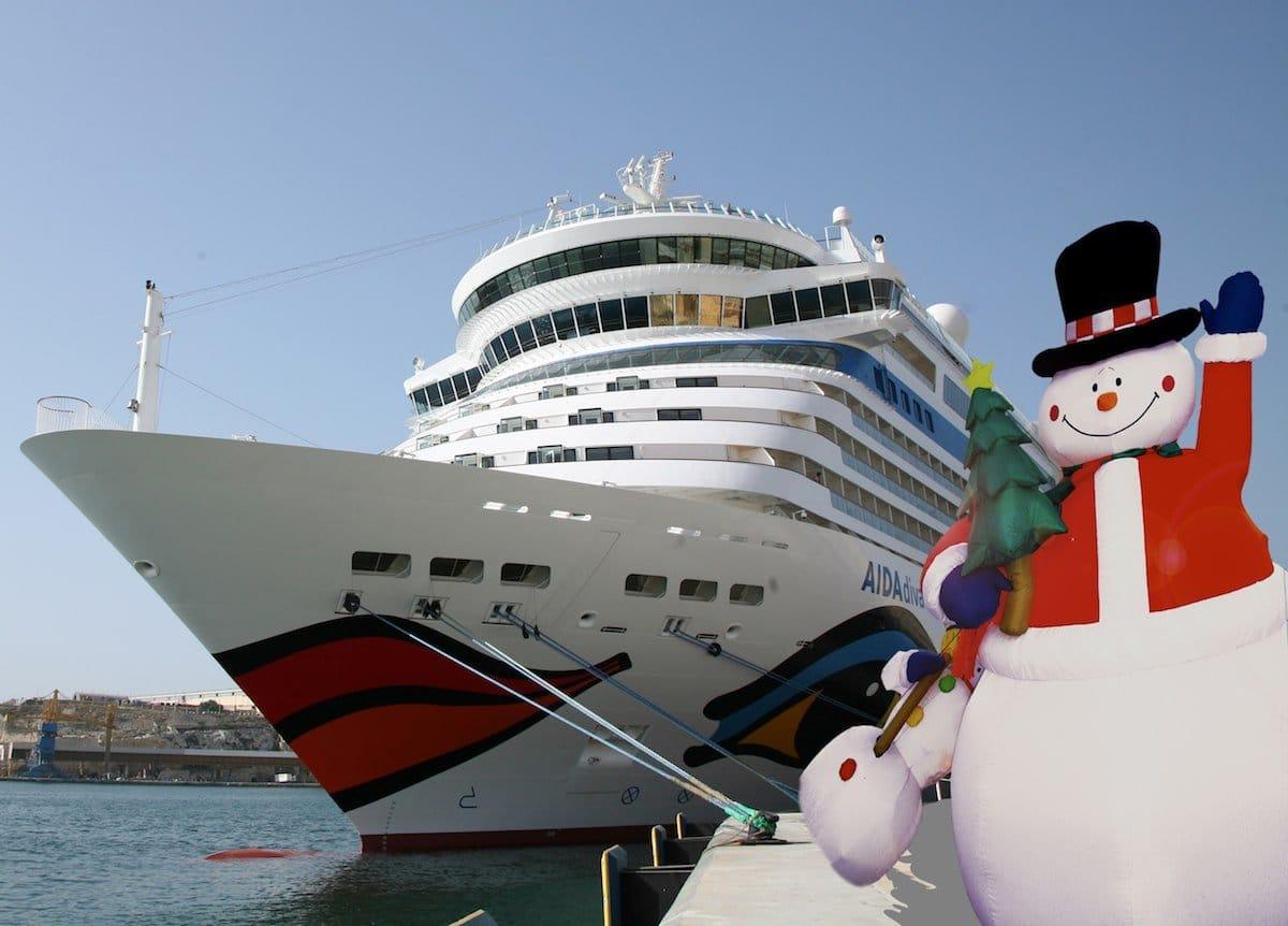 Weihnachten mit AIDA Kreuzfahrten