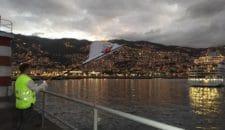"""Madeira: Borris Brandt von AIDA empfängt """"Inacio Freitas"""" den AIDA-Mann in Funchal mit wehender AIDA Flagge!"""