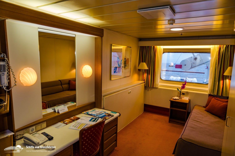 MS Artania Deckplan & Kabinen