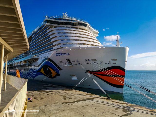 AIDAnova läuft verspätet aus Funchal aus - technische Probleme auf Marella Explorer