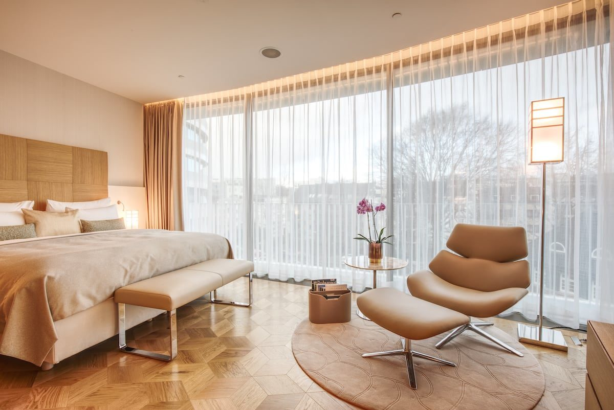 "Europa 2 Suite im Luxushotel ""The Fontenay"""