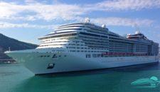 69-jährige Frau ging über Bord der MSC Preziosa in der Karibik