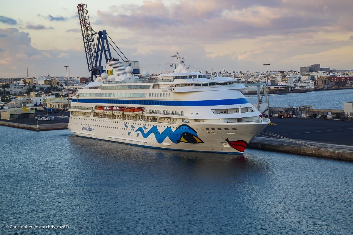 Alle AIDA Anläufe in Bremerhaven 2020