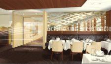 Neues Selection Restaurant auf der AIDAcara nach der Werft im Februar 2019