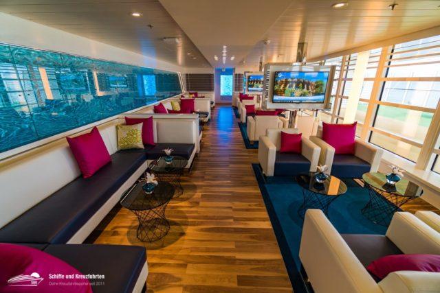 AIDA Lounge jetzt auch für Nicht-Suiten-Gäste buchbar