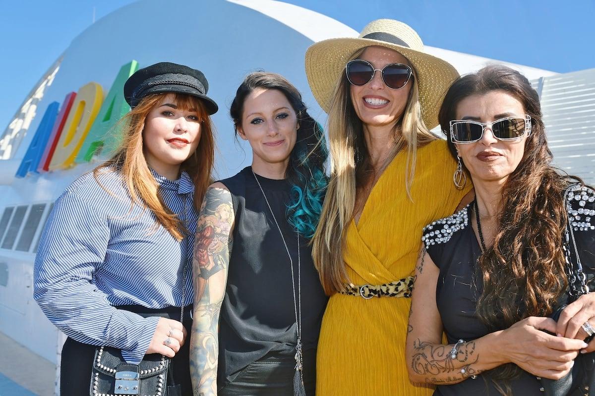 """Die vier Teilnehmerinnen von """"Shopping Queen auf hoher See"""" / © AIDA Cruises"""
