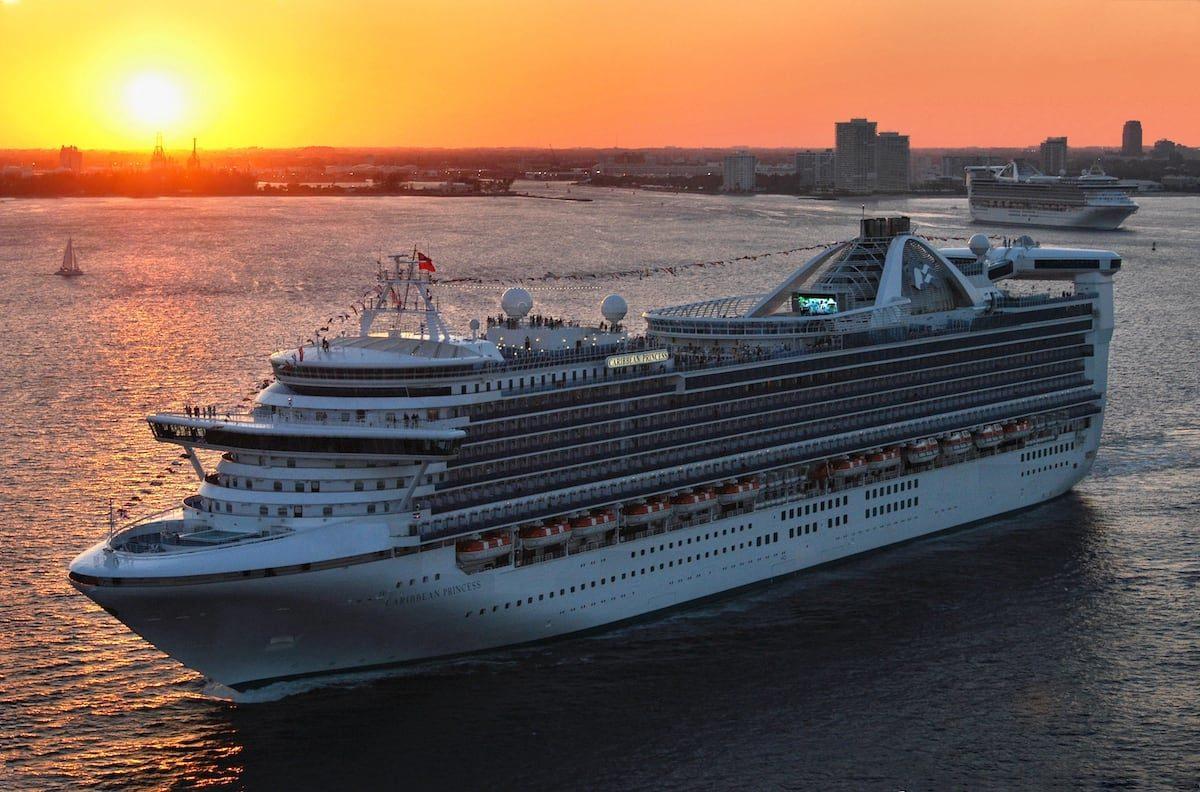 Caribbean Princess kommt frisch aus der Werft / © Princess Cruises