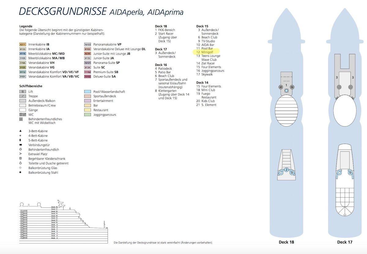 Alter Deckplan bis Katalog 2020/2021
