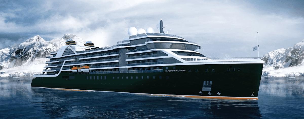 Seabourn Cruise Line: Stahlschnitt der Seabourn Venture-Schwester