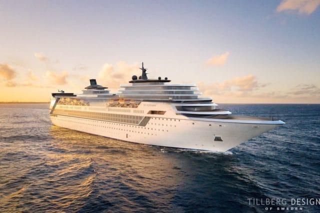 Storylines erschafft eine Wohnresidenz auf See - das Schiff soll die Costa neoRomantica sein / © Storylines.com / Tillberg Design