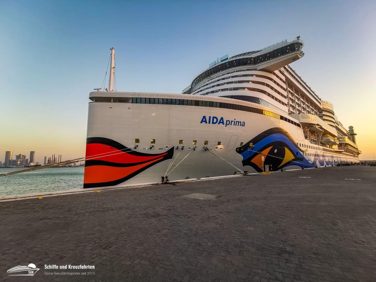 AIDAprima ist zurück in Dubai - Orient Kreuzfahrten starten im Dezember
