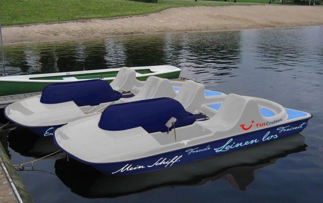 Mein Tretboot / © TUI Cruises