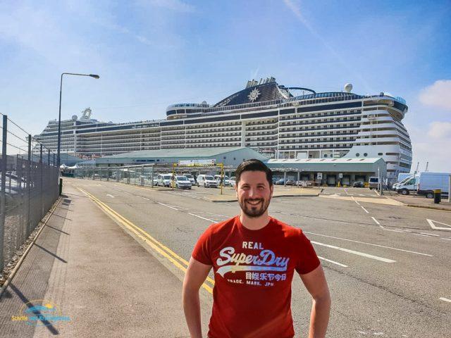 Reisebericht: MSC Preziosa Kurzreise von Hamburg nach Southampton