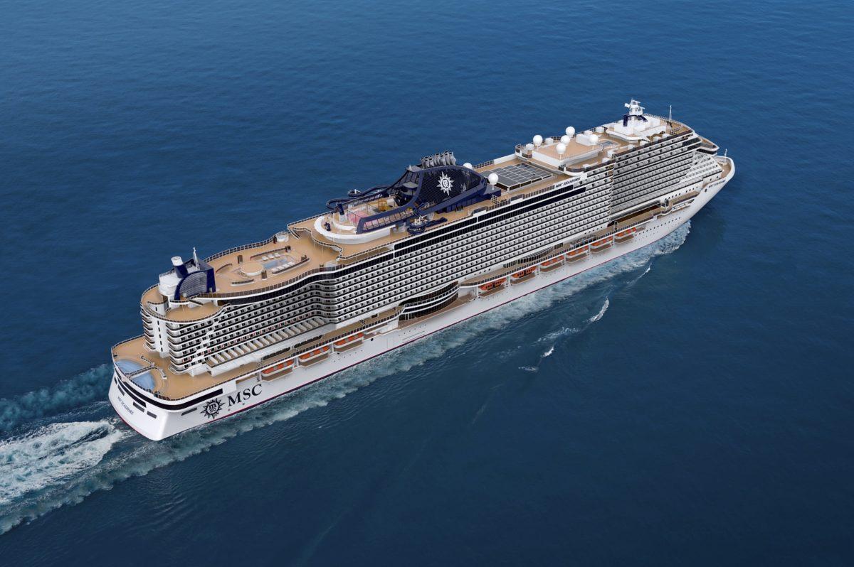 MSC Seashore kommt später - MSC Fantasia übernimmt ihre Reisen