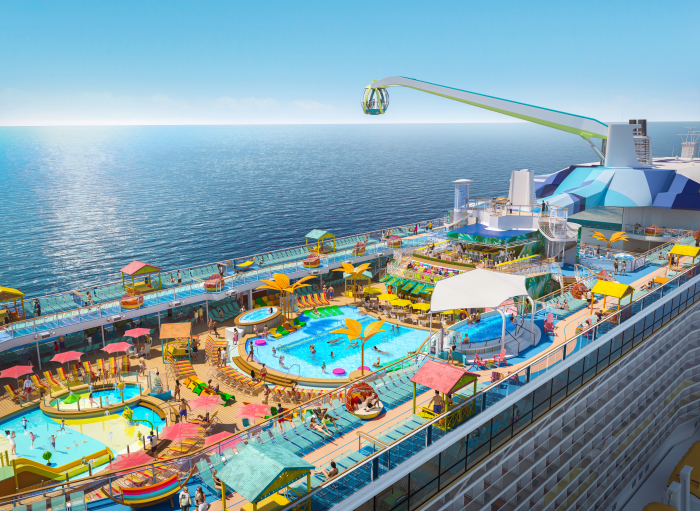 Royal Caribbean: Vier Neubauten im Jahr 2020