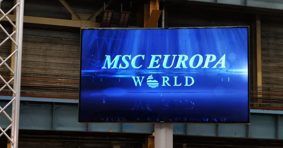 11 Decks! - MSC Europa soll die größte Rutsche auf einem Kreuzfahrtschiff erhalten